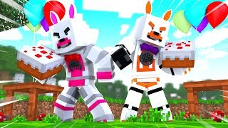Epic Party Games Adventure (Minecraft Fnaf Roleplay Adventure)