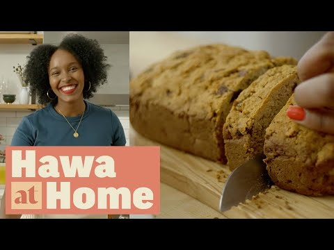 How to Make Date Bread   Hawa at Home   Food Network