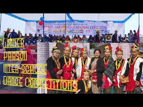 "Best kauda dance - ""Maya gurans phulyo"" (Theme:-Visit Nepal-2020)+Thaal dance ¦¦Continental School¦¦"