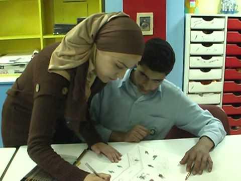 Gaza children express war experiences through art