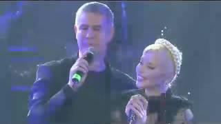 Loredana Groza in duet cu Alessandro Safina la Sala Palatului @inregistrare Loredana Groza