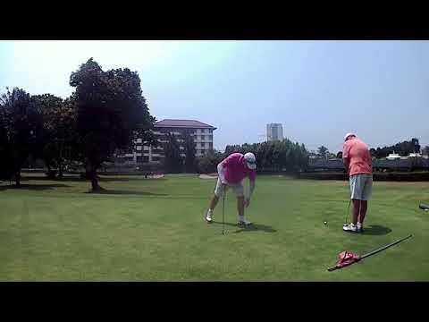 3rd Hole ZZ Par Putt Asia Pattaya Golf Course Thailand