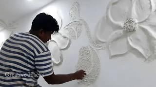 3d Wall Design Relief Mural Wall Art (telugu)