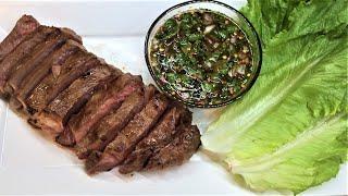 Crying Tiger Recipe l Grilled Beef Steak wSpicy Thai Dipping Sauce #gastroguru #foodgasm