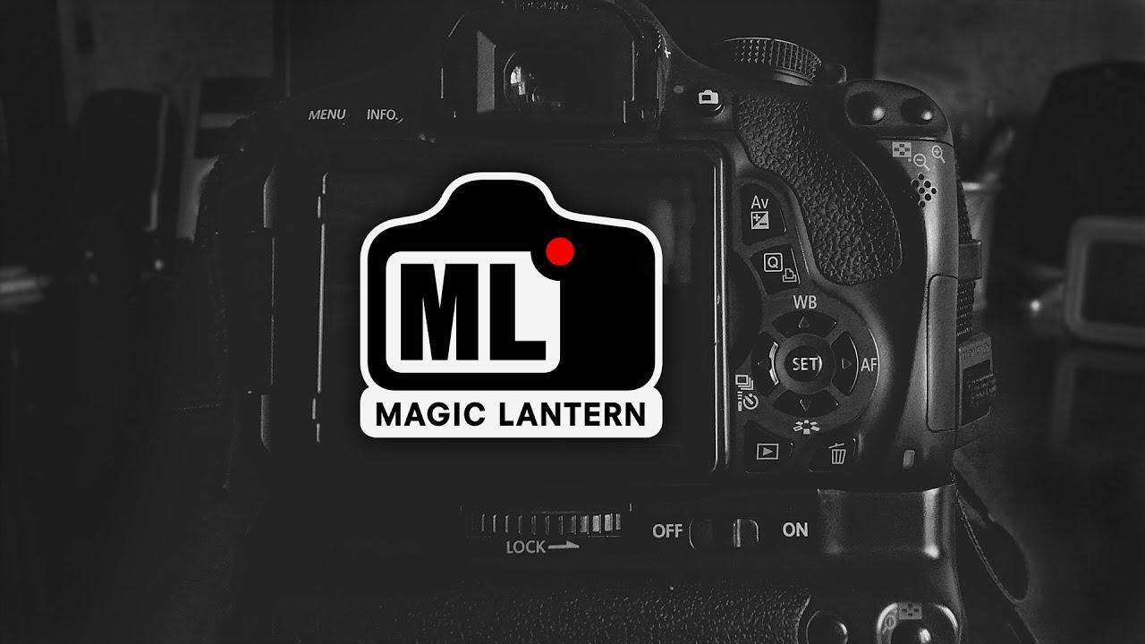 Прошивка magic lantern для canon 600d скачать