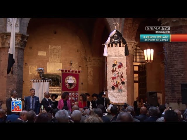 Presentazione del Drappellone 26-06-2018