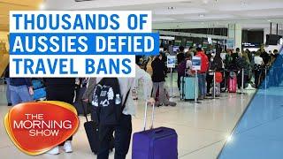 Coronavirus: Startling number of Aussies defied overseas travel ban | 7NEWS