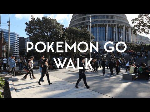 Pokémon GO Walk — Wellington - YouTube