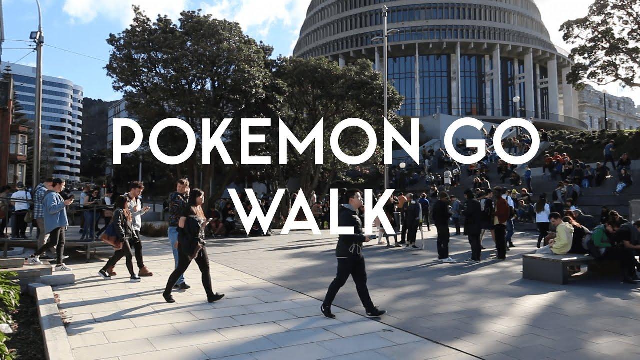Pokémon GO Walk — Wellington