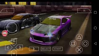 Need for speed Underground rivals gameplay