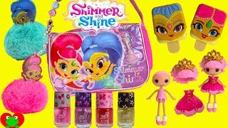 Shimmer and Shine What's Inside Their Purse
