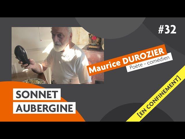 Les sonnets du comédien Maurice Durozier : l'aubergine