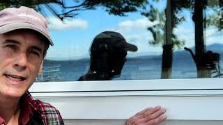 How to Fasten Vinyl Window Trim to House Exterior
