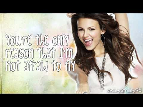 Victoria Justice  Youre The Reason with lyrics