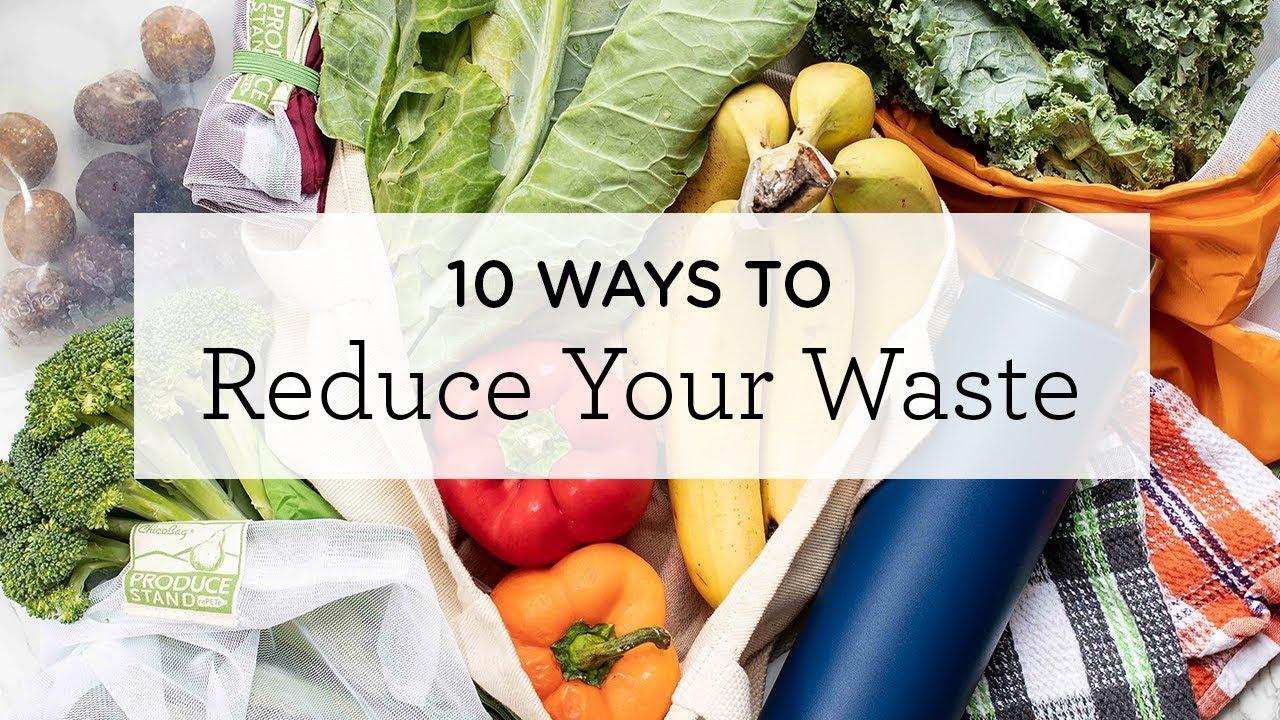 10 WAYS TO REDUCE WASTE | eco-friendly swaps & beginner zero waste