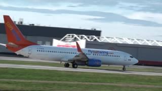 Sunwing Airlines Boeing 737-86J (C-FWGH) Takeoff 06R Montreal Trudeau YUL | CYUL
