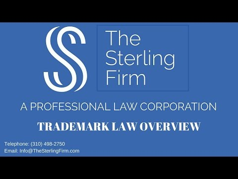 TRADEMARK LAW OVERVIEW