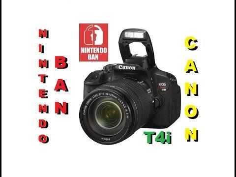 Nova Aquisição do Canal - Câmera Digital Canon T4i com Lente 18 55