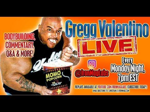 GREGG VALENTINO LIVE - Ep 4 - @IronMagLabs / Bodybuilding