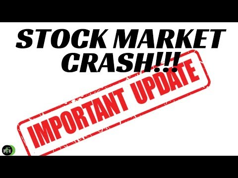 STOCK MARKET CRASH | (IMPORTANT UPDATE!)