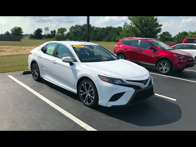 2018 Toyota Camry Se Full Tour Start Up At Massey Toyota