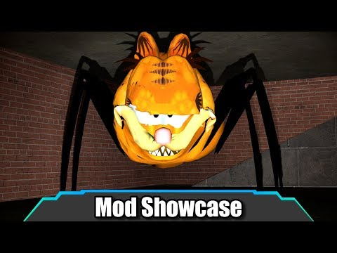 This Thing Is Straight Up NIGHTMARE FUEL (Gorefield Spider Nextbot)   Garry's Mod   Mod Showcase