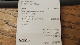 Houston man claims he paid for engagement ring that jewelry store won't let him have