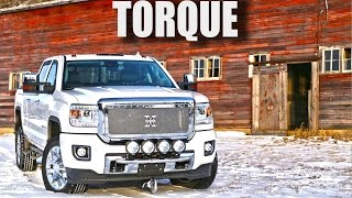 """Torque"" The Ultimate Tow Truck - Custom 2015 GMC Sierra 2500 HD Denali Diesel Pickup Truck"