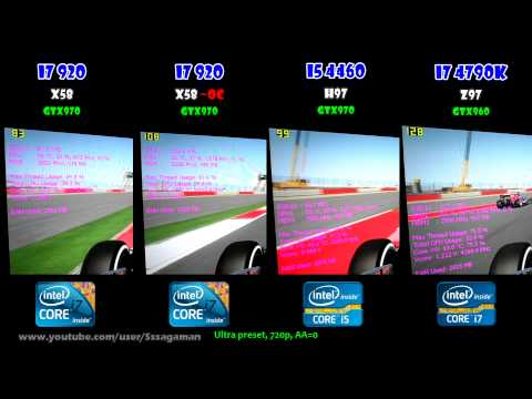 CPU WAR: i5 4460 vs i7 4790K vs i7 920 - Gaming Performance