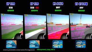 CPU WAR: i5 4460 vs i7 4790K vs i7 920 - Gaming Performance