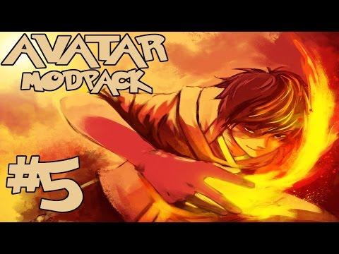 FIRE NATION HOMELAND?!    Avatar Modpack Episode 5 (Minecraft Avatar Mod)