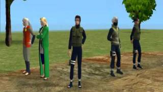 Naruto Shippuden Opening 2-Distance (Sims 2 Style)
