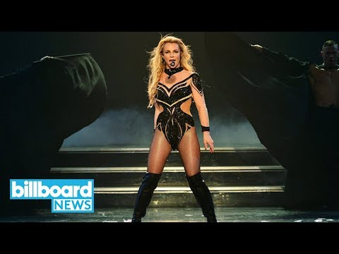Britney Spears Frightened During Vegas Show as Man Rushes Stage | Billboard News