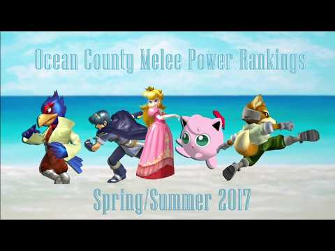 Ocean County Power Rankings Spring/Summer 2017 [SSBM]