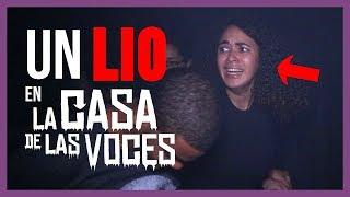 FUI A LA CASA DE LAS VOCES ¡QUE MIEDO! | LIOSDELIA