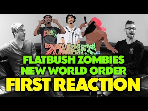 FLATBUSH ZOMBIES - NEW WORLD ORDER REACTION/REVIEW (Jungle Beats)