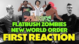 FLATBUSH ZOMBIES - NEW WORLD ORDER REACTION/REVIEW (Jungle Beats)
