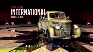L.A. Noire - All 95 Cars And Vehicle List HD