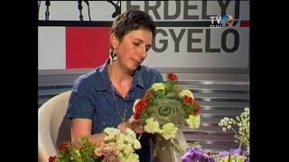 Metz Judit, virágkötés ballagásra