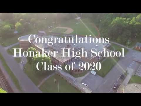 Aerial Tour of Honaker High School - Class of 2020 Tribute
