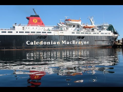 Reflecting on  ~ CALEDONIAN ISLES Ardrossan Harbour