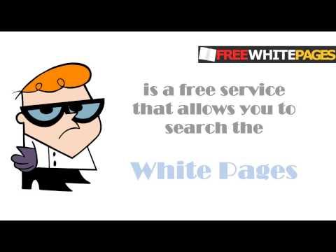 White Pages Free service that allows you to search the White Pages