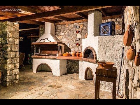 Μπάρμεπεκιου, Φούρνος, Ψησταριά, Παρασιά.wmv