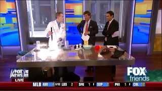 Lightbulb Science and D3O on Fox News Channel (Jeffrey Vinokur on Fox & Friends)