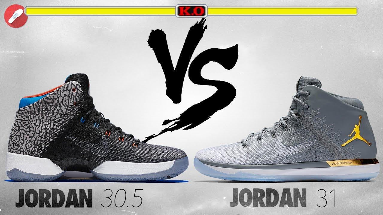 Jordans 30.5 Jordan 31