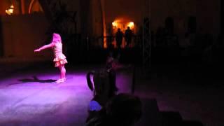Детская анимация, mini-disco, танец Юки Туки, ТУКИ ТУКИ,  in out, Диана 4 года, 2010г