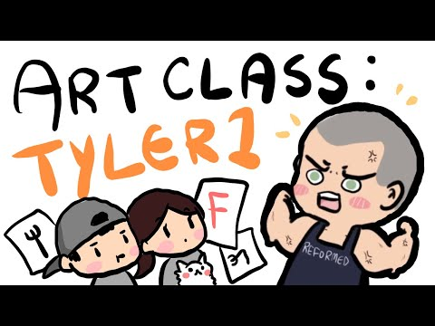 Lily's Art Class 6 ~ Tyler1 ft. Fed's mom :D