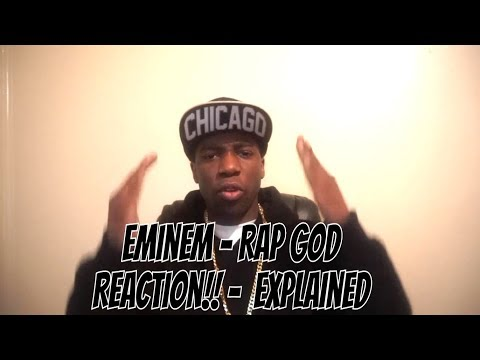 Eminem - Rap God Reaction!! -  Explained