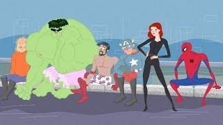 👀 Mongo e Drongo: Guerra Civil desenho COMPLETO com Vingadores - Homem-Aranha, Hulk, Homem de ferro