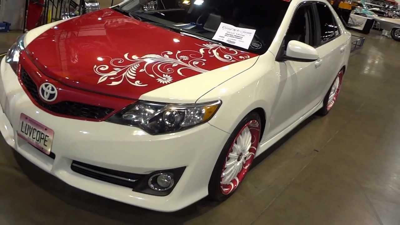 2012 Toyota Camry Se Ct Pink Edition By Cope Design Youtube